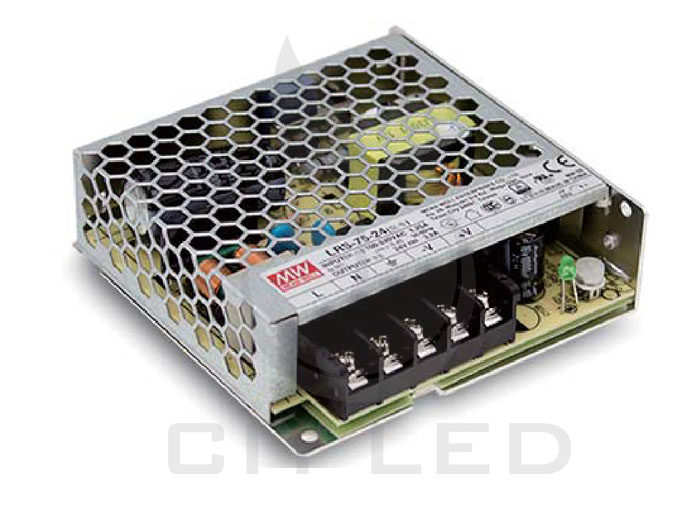 MEAN WELL Non-waterproof LRS Series Power Supply