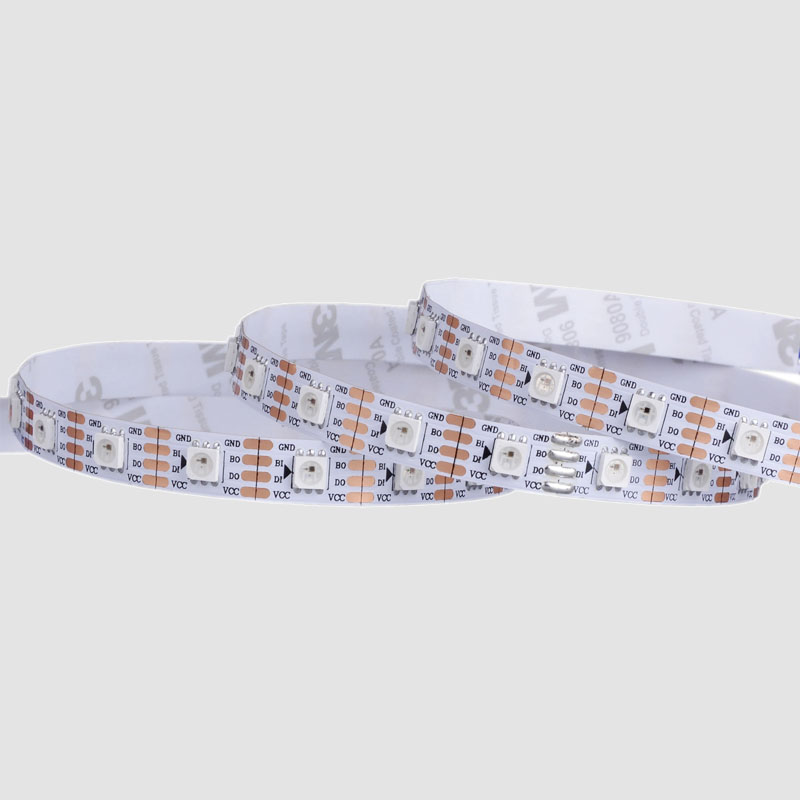 Individully addressable 12V WS2815 full color pixel controlled led strip